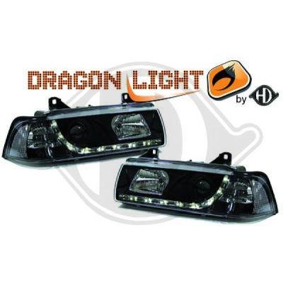 Bloc-optique, projecteurs principaux - HDK-Germany - 77HDK1213586
