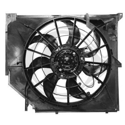 Ventilateur, refroidissement du moteur - Diederichs Germany - 1214001