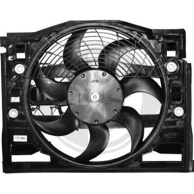 Ventilateur, refroidissement du moteur - Diederichs Germany - 1214201