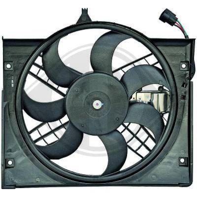 Ventilateur, refroidissement du moteur - Diederichs Germany - 1214301