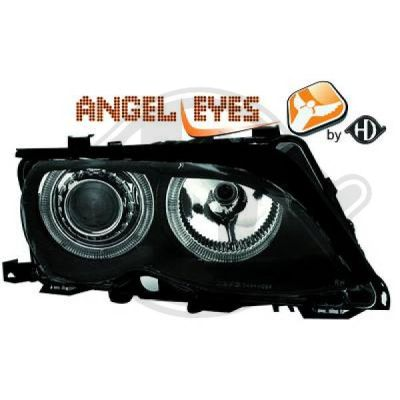 Bloc-optique, projecteurs principaux - HDK-Germany - 77HDK1215481