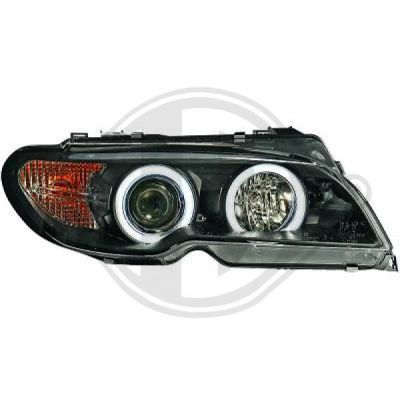Bloc-optique, projecteurs principaux - HDK-Germany - 77HDK1215886