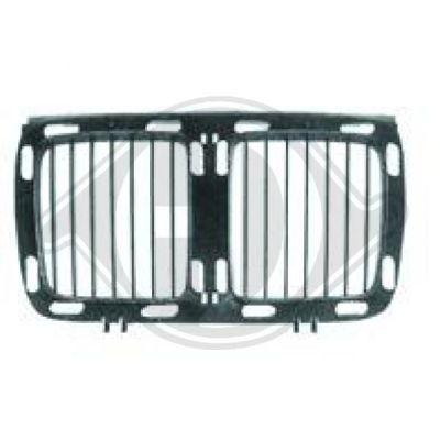 Elément insertable, grille de radiateur - Diederichs Germany - 1222040