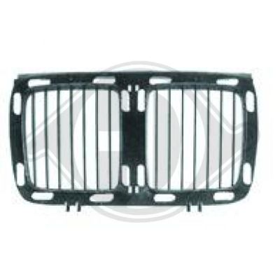 Elément insertable, grille de radiateur - HDK-Germany - 77HDK1222040