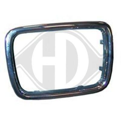 Baguette et bande protectrice, grille de radiateur - Diederichs Germany - 1222143