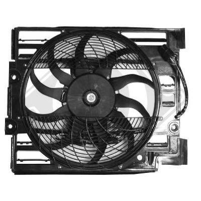 Ventilateur, refroidissement du moteur - Diederichs Germany - 1223001