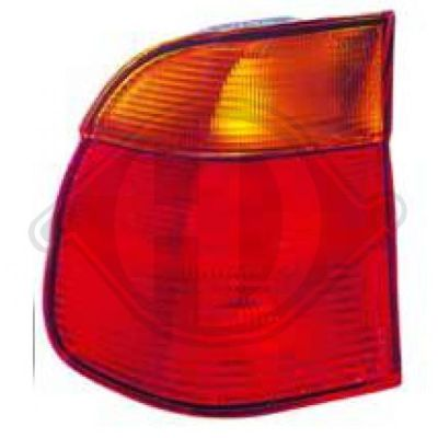 Feu arrière - HDK-Germany - 77HDK1223691