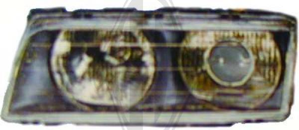 Glace striée, projecteur principal - Diederichs Germany - 1242284