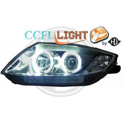 Bloc-optique, projecteurs principaux - HDK-Germany - 77HDK1251281