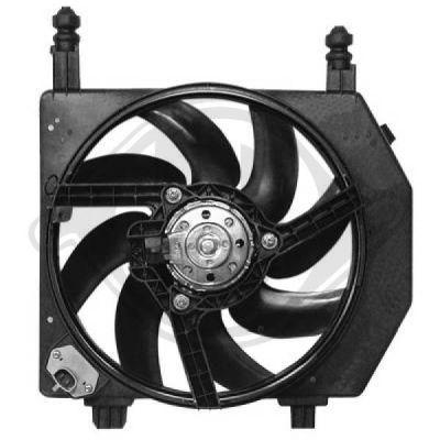 Ventilateur, refroidissement du moteur - Diederichs Germany - 1403001