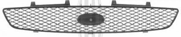Grille de radiateur - Diederichs Germany - 1403140