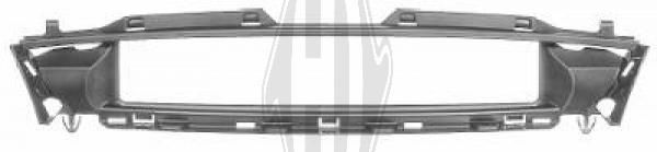 Cadre, grille de radiateur - Diederichs Germany - 1403141