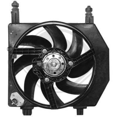 Ventilateur, refroidissement du moteur - Diederichs Germany - 1403201