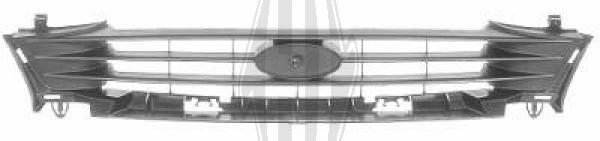 Grille de radiateur - Diederichs Germany - 1403240