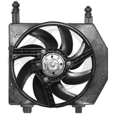 Ventilateur, refroidissement du moteur - Diederichs Germany - 1403301