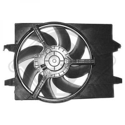 Ventilateur, refroidissement du moteur - Diederichs Germany - 1404107