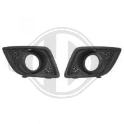 Grille de ventilation, pare-chocs - HDK-Germany - 77HDK1404249