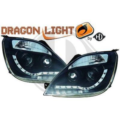 Bloc-optique, projecteurs principaux - HDK-Germany - 77HDK1404485