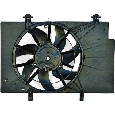 Ventilateur, refroidissement du moteur - Diederichs Germany - 1405001