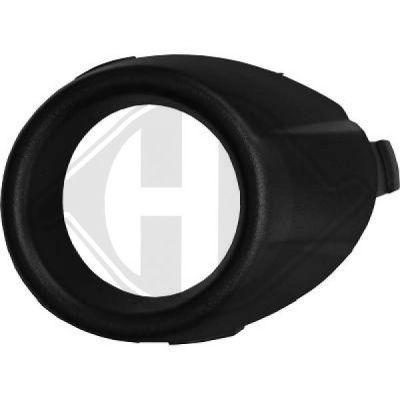 Enjoliveur, projecteur antibrouillard - Diederichs Germany - 1405046
