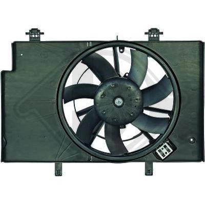 Ventilateur, refroidissement du moteur - HDK-Germany - 77HDK1405101