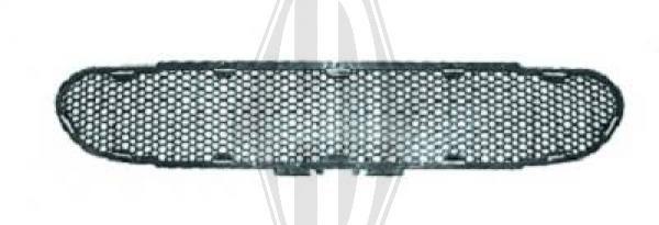 Grille de ventilation, pare-chocs - Diederichs Germany - 1414045