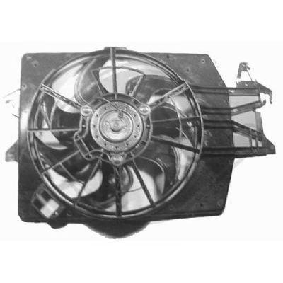 Ventilateur, refroidissement du moteur - Diederichs Germany - 1414101