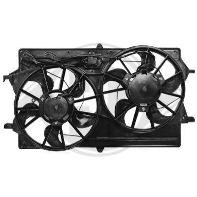 Ventilateur, refroidissement du moteur - Diederichs Germany - 1415001