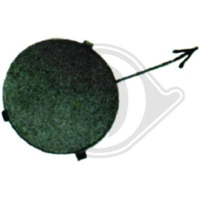 Capuchon, crochet de remorquage - Diederichs Germany - 1415061
