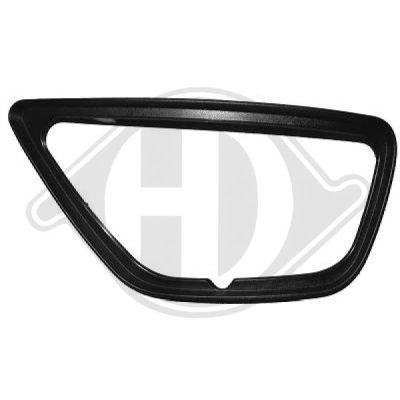 Cadre, projecteur antibrouillard - HDK-Germany - 77HDK1415161