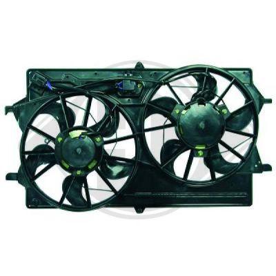 Ventilateur, refroidissement du moteur - Diederichs Germany - 1415201