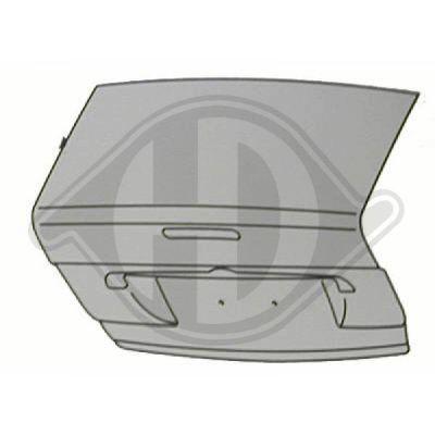 Couvercle de coffre à bagages/de compartiment de chargement - Diederichs Germany - 1415628