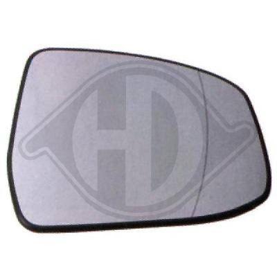 Verre de rétroviseur, rétroviseur extérieur - HDK-Germany - 77HDK1417127