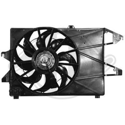 Ventilateur, refroidissement du moteur - Diederichs Germany - 1425001