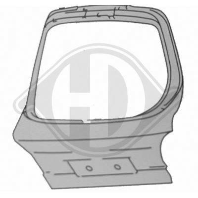 Couvercle de coffre à bagages/de compartiment de chargement - HDK-Germany - 77HDK1425028