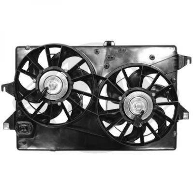 Ventilateur, refroidissement du moteur - Diederichs Germany - 1425101