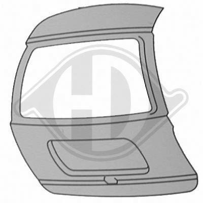 Couvercle de coffre à bagages/de compartiment de chargement - Diederichs Germany - 1426628