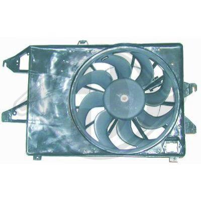 Ventilateur, refroidissement du moteur - Diederichs Germany - 1427001