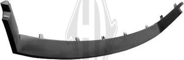 Cadre, grille de radiateur - Diederichs Germany - 1427039