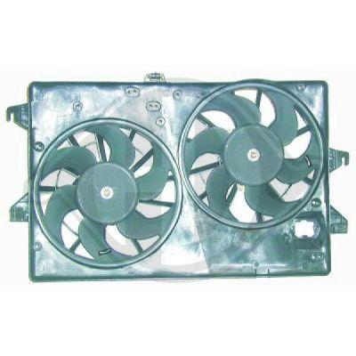 Ventilateur, refroidissement du moteur - Diederichs Germany - 1427101