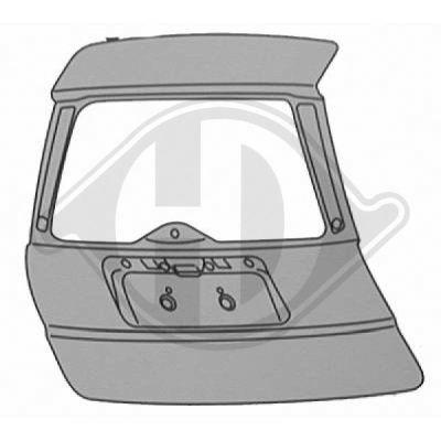 Couvercle de coffre à bagages/de compartiment de chargement - HDK-Germany - 77HDK1427628