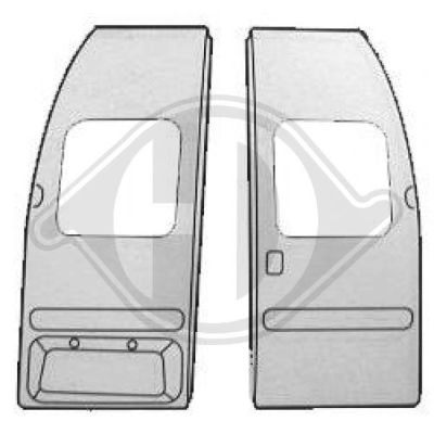 Porte arrière - HDK-Germany - 77HDK1452034