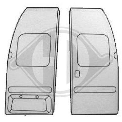 Porte arrière - HDK-Germany - 77HDK1452135