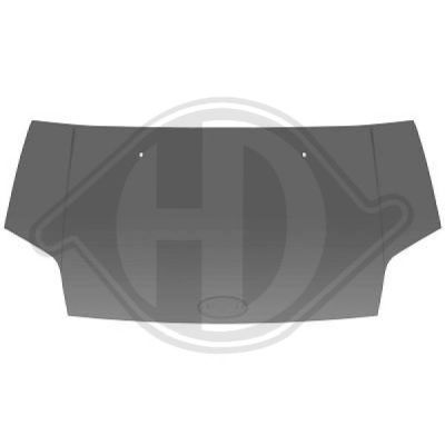 Capot-moteur - HDK-Germany - 77HDK1454600