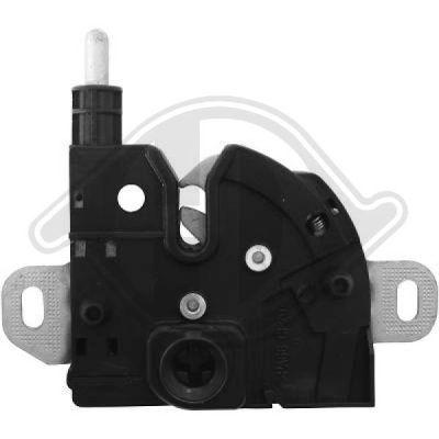 Serrure de capot-moteur - Diederichs Germany - 1455015