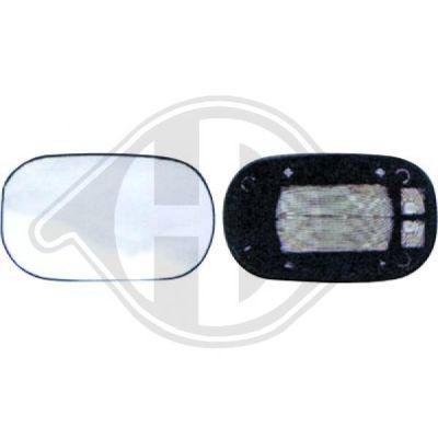 Verre de rétroviseur, rétroviseur extérieur - HDK-Germany - 77HDK1460226