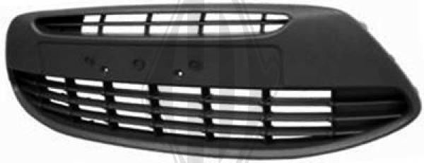 Grille de ventilation, pare-chocs - Diederichs Germany - 1461045