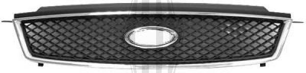 Grille de radiateur - HDK-Germany - 77HDK1465040