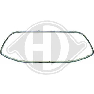 Baguette et bande protectrice, grille de radiateur - HDK-Germany - 77HDK1467046
