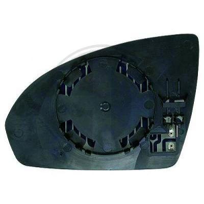 Verre de rétroviseur, rétroviseur extérieur - HDK-Germany - 77HDK1606226